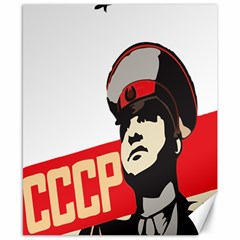 Soviet Red Army Canvas 8  x 10  (Unframed)