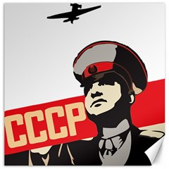 Soviet Red Army Canvas 12  x 12  (Unframed)