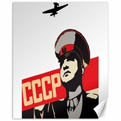 Soviet Red Army Canvas 16  x 20  (Unframed)