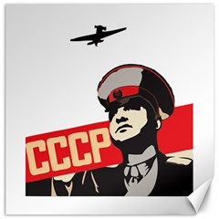 Soviet Red Army Canvas 20  x 20  (Unframed)