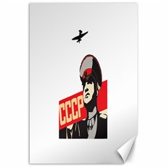 Soviet Red Army Canvas 24  x 36  (Unframed)