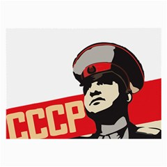 Soviet Red Army Glasses Cloth (Large, Two Sided)
