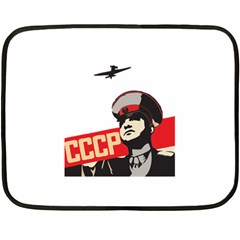 Soviet Red Army Mini Fleece Blanket (Two Sided)