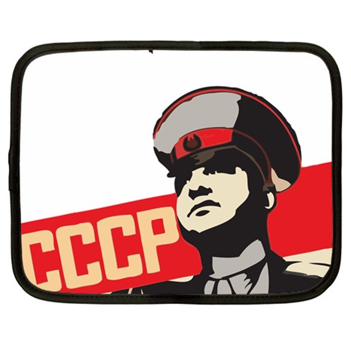 Soviet Red Army Netbook Case (XL)