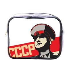Soviet Red Army Mini Travel Toiletry Bag (one Side)