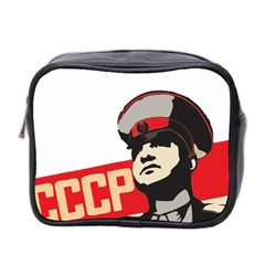 Soviet Red Army Mini Travel Toiletry Bag (Two Sides)