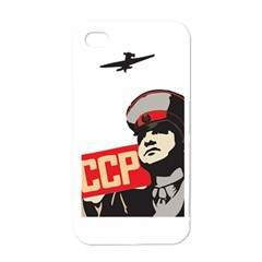 Soviet Red Army Apple iPhone 4 Case (White)