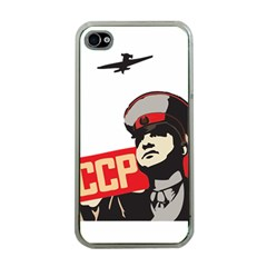 Soviet Red Army Apple iPhone 4 Case (Clear)