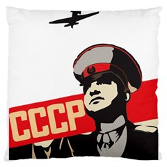 Soviet Red Army Large Cushion Case (Single Sided)