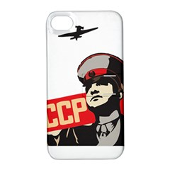 Soviet Red Army Apple iPhone 4/4S Hardshell Case with Stand