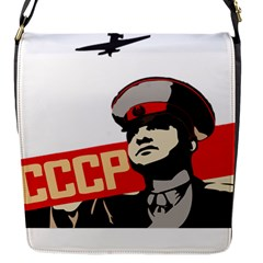 Soviet Red Army Flap closure messenger bag (Small)