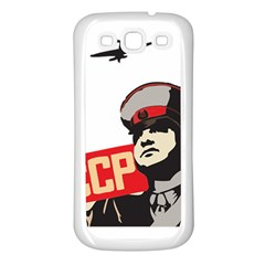 Soviet Red Army Samsung Galaxy S3 Back Case (White)