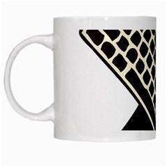 Hammer And Keyboard  White Coffee Mug