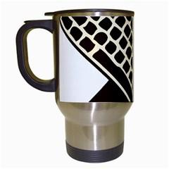 Hammer And Keyboard  Travel Mug (White)