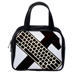 Hammer And Keyboard  Classic Handbag (One Side)
