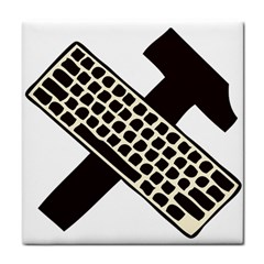 Hammer And Keyboard  Face Towel