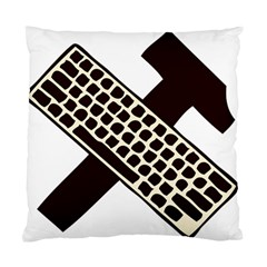 Hammer And Keyboard  Cushion Case (Single Sided)
