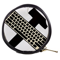 Hammer And Keyboard  Mini Makeup Case