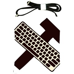 Hammer And Keyboard  Shoulder Sling Bag