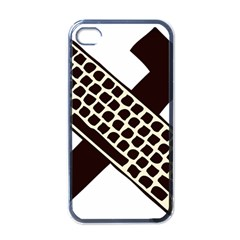 Hammer And Keyboard  Apple iPhone 4 Case (Black)