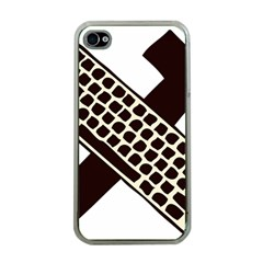 Hammer And Keyboard  Apple iPhone 4 Case (Clear)