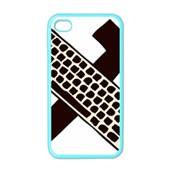 Hammer And Keyboard  Apple iPhone 4 Case (Color)