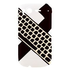 Hammer And Keyboard  HTC Desire S Hardshell Case