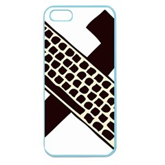 Hammer And Keyboard  Apple Seamless Iphone 5 Case (color)