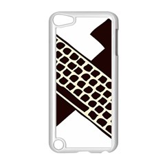 Hammer And Keyboard  Apple iPod Touch 5 Case (White)