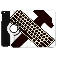 Hammer And Keyboard  Apple iPad Mini Flip 360 Case