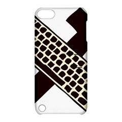 Hammer And Keyboard  Apple Ipod Touch 5 Hardshell Case With Stand