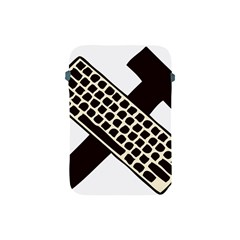 Hammer And Keyboard  Apple Ipad Mini Protective Soft Case