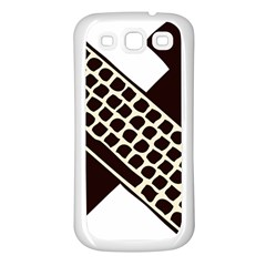 Hammer And Keyboard  Samsung Galaxy S3 Back Case (White)