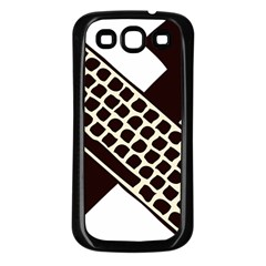 Hammer And Keyboard  Samsung Galaxy S3 Back Case (Black)