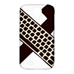 Hammer And Keyboard  Samsung Galaxy S4 Classic Hardshell Case (PC+Silicone)