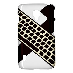 Hammer And Keyboard  LG P715 (Optimus L7 II) Hardshell Case
