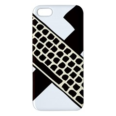 Hammer And Keyboard  iPhone 5S Premium Hardshell Case