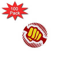 power to the people 1  Mini Button (100 pack)