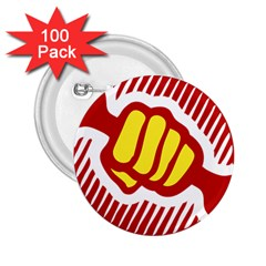 Power To The People 2 25  Button (100 Pack)