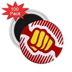power to the people 2.25  Button Magnet (100 pack)