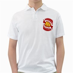 Power To The People Mens  Polo Shirt (white)