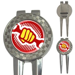 Power To The People Golf Pitchfork & Ball Marker