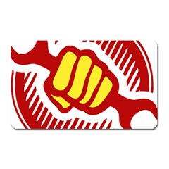 Power To The People Magnet (rectangular)