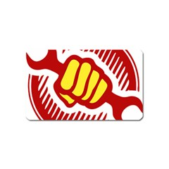 power to the people Magnet (Name Card)