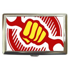 Power To The People Cigarette Money Case
