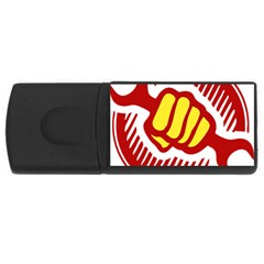 Power To The People 4gb Usb Flash Drive (rectangle)