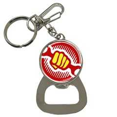 power to the people Bottle Opener Key Chain