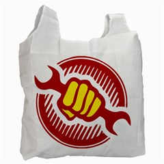 Power To The People Recycle Bag (one Side)