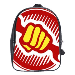 power to the people School Bag (Large)