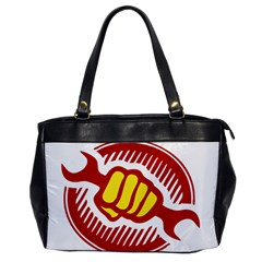 power to the people Oversize Office Handbag (One Side)